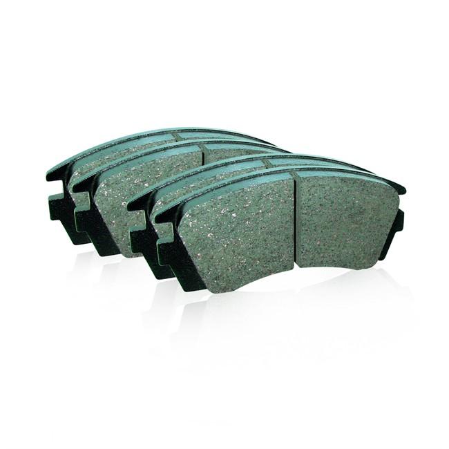 4 plaquettes de frein nps h360i31. Black Bedroom Furniture Sets. Home Design Ideas