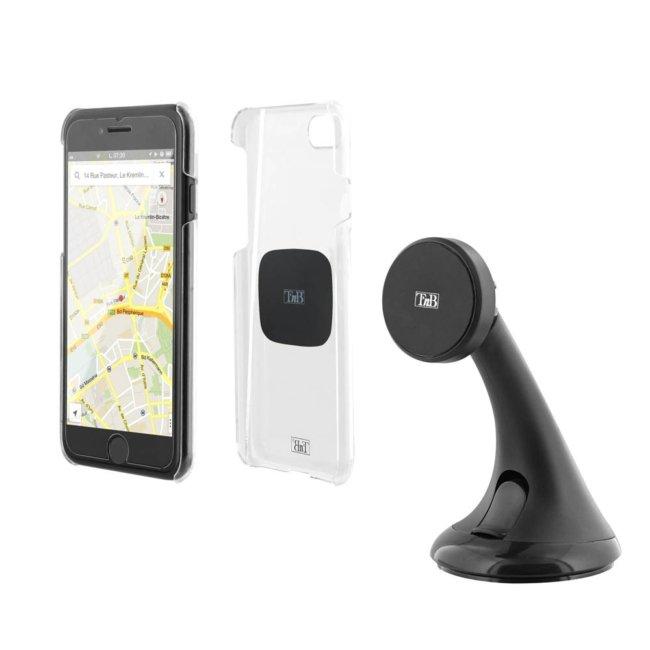 Support De Smartphone Aimanté Sur Ventouse Tnb