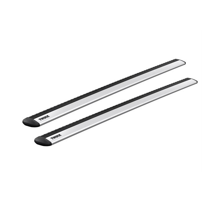 2 Barres Thule Wingbar Evo 118 En Aluminium