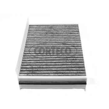 filtre d 39 habitacle charbon actif corteco cc1211. Black Bedroom Furniture Sets. Home Design Ideas