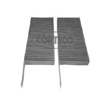 filtre d 39 habitacle charbon actif corteco cc1439. Black Bedroom Furniture Sets. Home Design Ideas