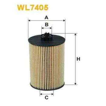 filtre huile wix wl7405. Black Bedroom Furniture Sets. Home Design Ideas