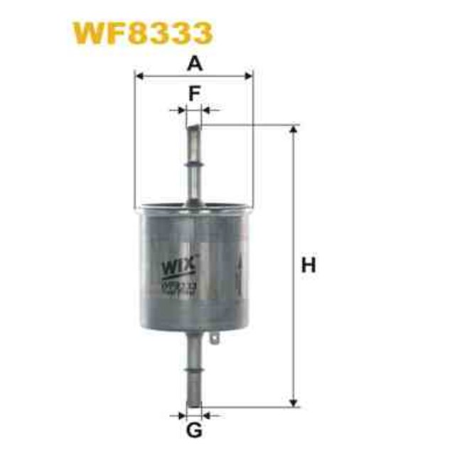 filtre carburant wix wf8333. Black Bedroom Furniture Sets. Home Design Ideas