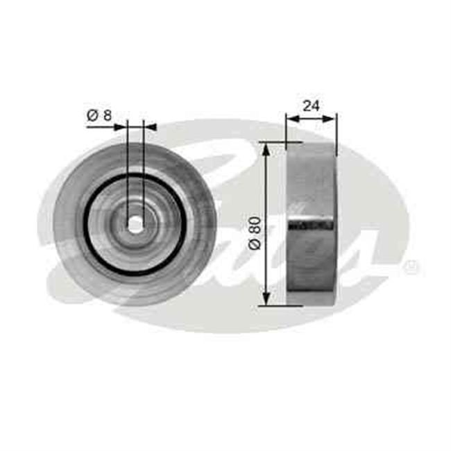 galet tendeur de courroie d 39 accessoires gates r f t36162. Black Bedroom Furniture Sets. Home Design Ideas