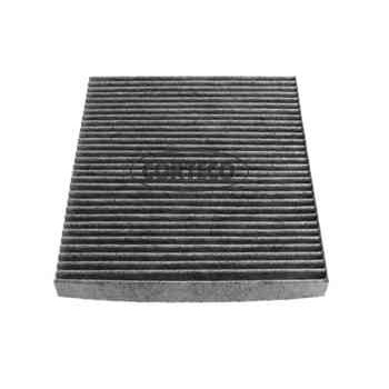 filtre d 39 habitacle charbon actif corteco cc1172. Black Bedroom Furniture Sets. Home Design Ideas