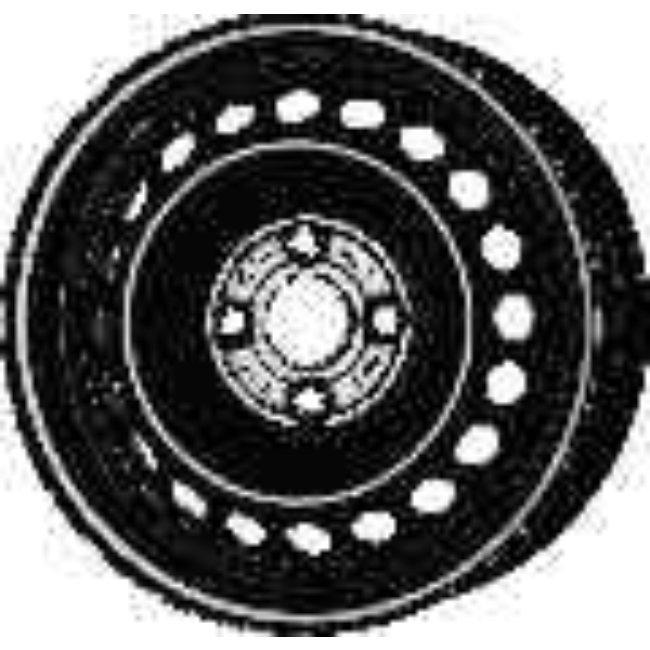 Jante Tôle 14 Pouces - 4 Trous - 5,5x14 4x100 Et47 Al54