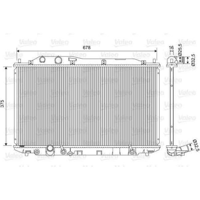 Radiateur De Refroidissement Valeo 701570