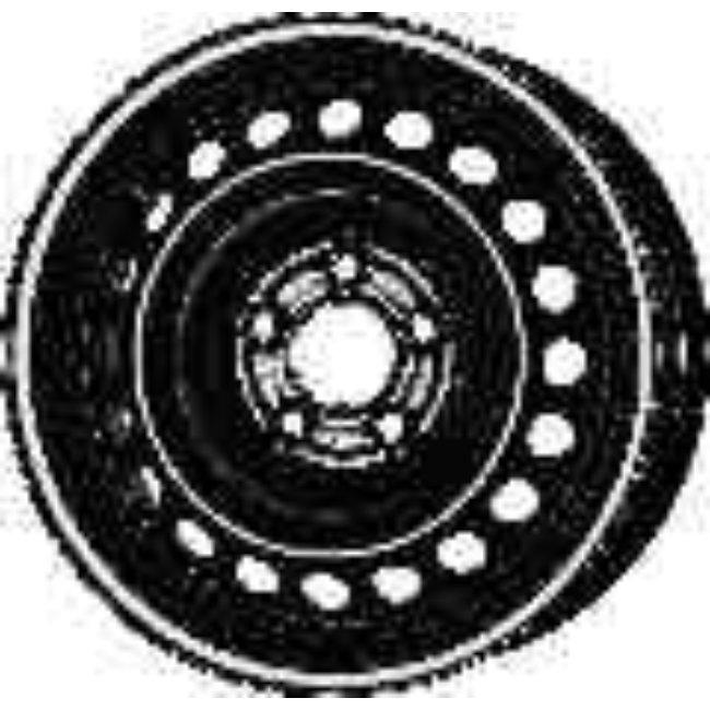 Jante Tôle 16 Pouces - 5 Trous - 6,5x16 5x114,3 Et40 Al66.1