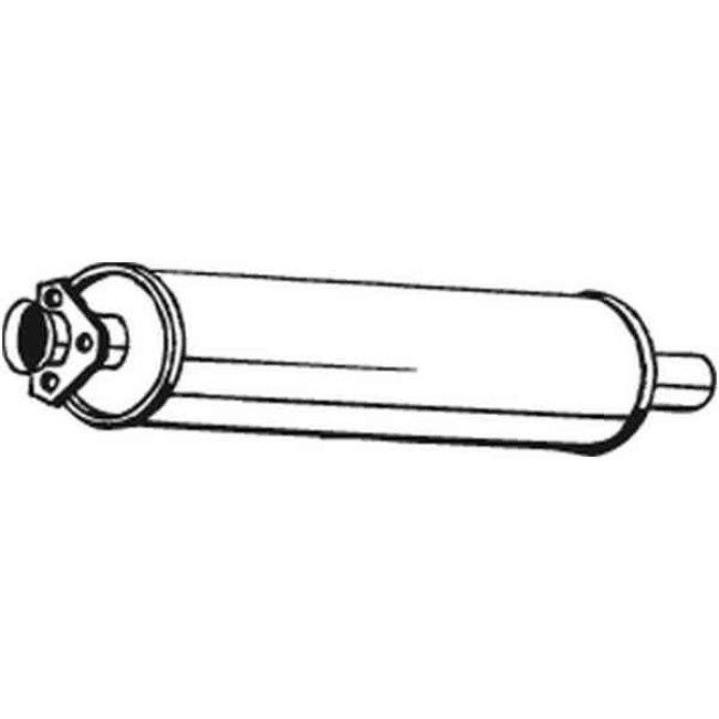 Silencieux Intermédiaire Bosal 105-901