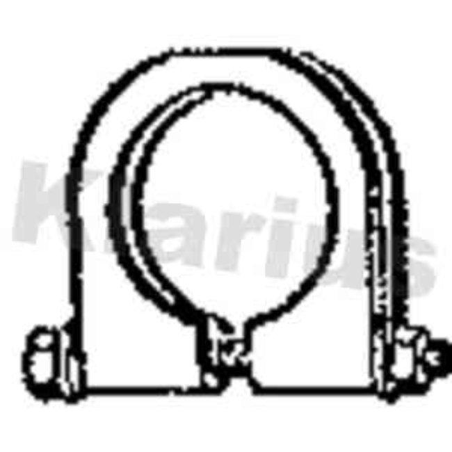 Autres Accessoires Échappement Klarius 440373