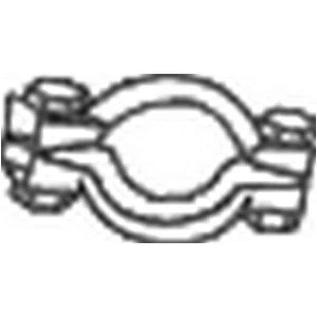 Collier Échappement Bosal 254-701