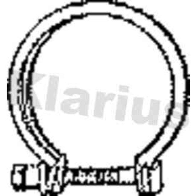 Autres Accessoires Échappement Klarius 430587
