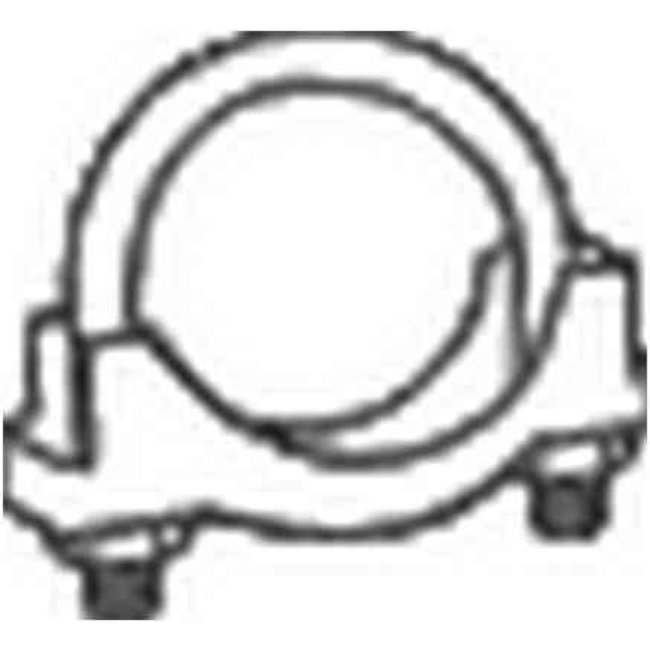 Collier Échappement Bosal 250-160