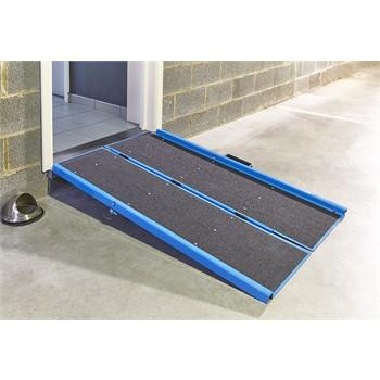rampe d 39 acc s pliable en aluminium de longueur 106 cm. Black Bedroom Furniture Sets. Home Design Ideas