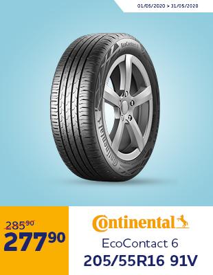 Opona Letnia Continental EcoContact 6 205/55R16 91V DOT 2020